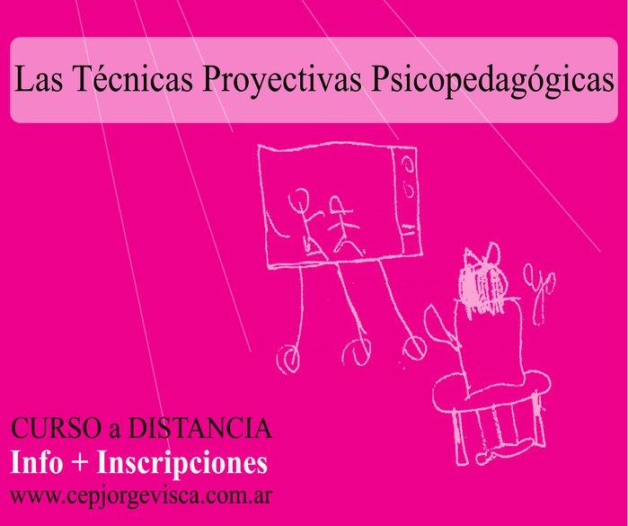 Curso a distancia - Técnicas Proyectivas Psicopedagógicas